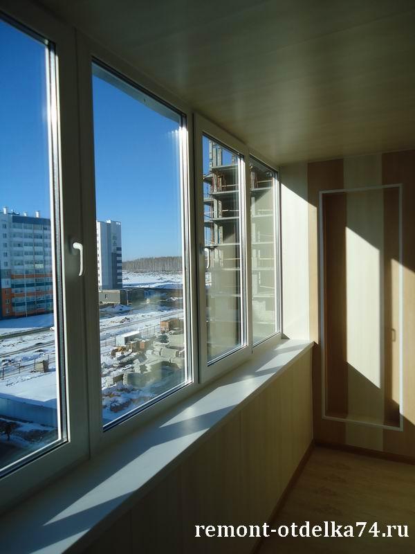 Ремонт балкона на улице хариса юсупова в Челябинске - ремонт.